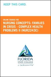 cover image - Nursing Concepts: Families in Crisis - Complex Health Problems II Retail Card (NUR2243C RC)