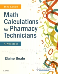 cover image - Math Calculations for Pharmacy Technicians custom e-book for Ross education (3e),3rd Edition