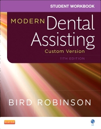 cover image - Student Workbook for Modern Dental Assisting Custom Version for Ross Education (11e),11th Edition