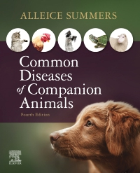 cover image - Common Diseases of Companion Animals Custom Version for Ross Education,4th Edition