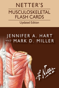 cover image - Netter's Musculoskeletal Flash Cards Updated Edition Elsevier eBook on VitalSource