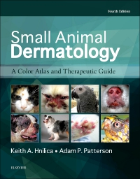 cover image - Small Animal Dermatology,4th Edition