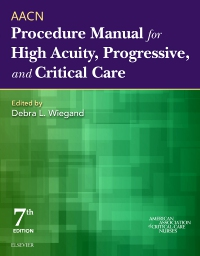 cover image - AACN Procedure Manual for High Acuity, Progressive, and Critical Care,7th Edition