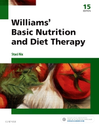 cover image - Williams' Basic Nutrition & Diet Therapy,15th Edition