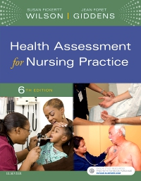 cover image - Health Assessment for Nursing Practice - Elsevier eBook on VitalSource,6th Edition