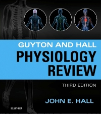cover image - Guyton & Hall Physiology Review Elsevier eBook on VitalSource,3rd Edition