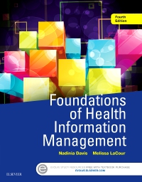 cover image - Foundations of Health Information Management - Elsevier eBook on VitalSource,4th Edition