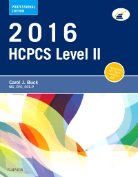cover image - 2016 HCPCS Level II Professional Edition - Elsevier eBook on VitalSource