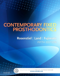 cover image - Evolve Resources for Contemporary Fixed Prosthodontics,5th Edition