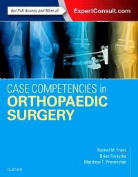 cover image - Case Competencies in Orthopaedic Surgery