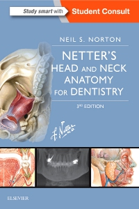 cover image - Netter's Head and Neck Anatomy for Dentistry,3rd Edition