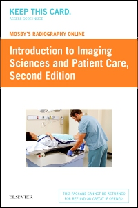 cover image - Mosby's Radiography Online: Introduction to Imaging Sciences and Patient Care (Access Code),2nd Edition