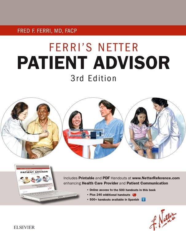 cover image - Ferri's Netter Patient Advisor,3rd Edition