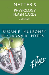cover image - Netter's Physiology Flash Cards Elsevier eBook on VitalSource,2nd Edition
