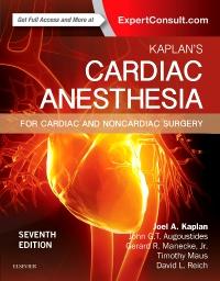 cover image - Kaplan's Cardiac Anesthesia,7th Edition