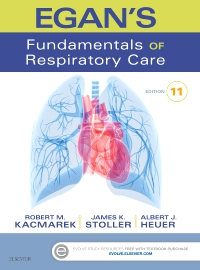 cover image - Evolve Resources for Egan's Fundamentals of Respiratory Care,11th Edition