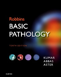 cover image - Robbins Basic Pathology Elsevier eBook on VitalSource,10th Edition