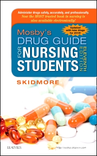 cover image - Mosby's Drug Guide for Nursing Students, with 2016 Update - Elsevier eBook on VitalSource,11th Edition