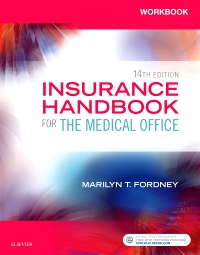 cover image - Workbook for Insurance Handbook for the Medical Office - Elsevier eBook on VitalSource,14th Edition