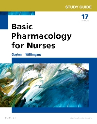 cover image - Study Guide for Basic Pharmacology for Nurses,17th Edition