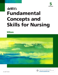 cover image - deWit's Fundamental Concepts and Skills for Nursing,5th Edition