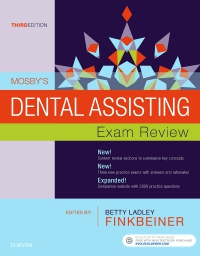 cover image - Mosby's Dental Assisting Exam Review,3rd Edition
