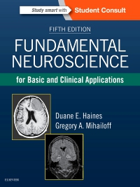 cover image - Fundamental Neuroscience for Basic and Clinical Applications,5th Edition