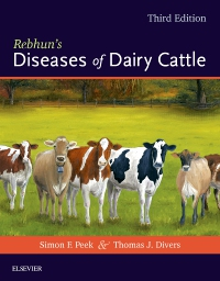 cover image - Rebhun's Diseases of Dairy Cattle – Elsevier eBook on VitalSource,3rd Edition