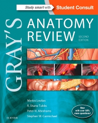 cover image - Gray's Anatomy Review Elsevier eBook on VitalSource,2nd Edition