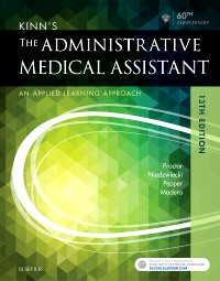 cover image - Kinn's The Administrative Medical Assistant,13th Edition