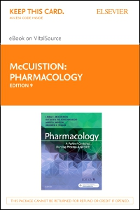 cover image - Pharmacology - Elsevier eBook on VitalSource (Retail Access Card),9th Edition