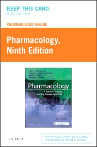 cover image - Pharmacology Online for Pharmacology (Access Card),9th Edition