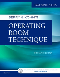 cover image - Berry & Kohn's Operating Room Technique,13th Edition
