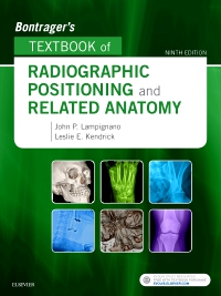 cover image - Bontrager's Textbook of Radiographic Positioning and Related Anatomy,9th Edition