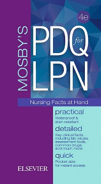 cover image - Mosby's PDQ for LPN,4th Edition