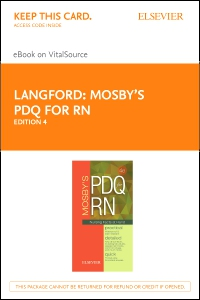 cover image - Mosby's PDQ for RN - Elsevier eBook on VitalSource (Retail Access Card),4th Edition