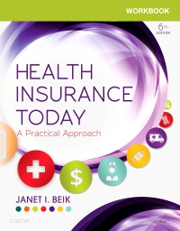 cover image - Workbook for Health Insurance Today,6th Edition