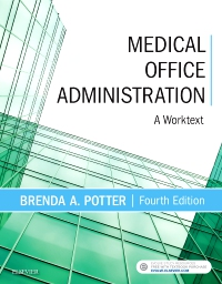 cover image - Medical Office Administration,4th Edition