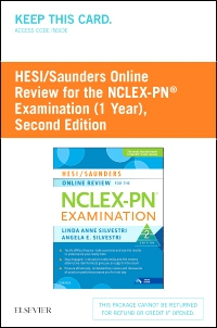cover image - HESI/Saunders Online Review for the NCLEX-PN Examination (1 Year) (Access Card),2nd Edition