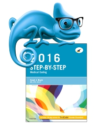 cover image - Elsevier Adaptive Learning for Step-by-Step Medical Coding, 2016 edition