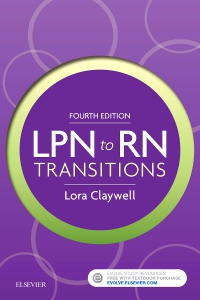cover image - LPN to RN Transitions,4th Edition