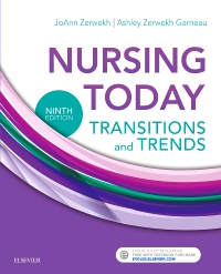 cover image - Nursing Today,9th Edition