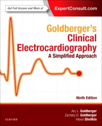 cover image - Goldberger's Clinical Electrocardiography,9th Edition