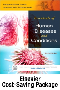 cover image - Essentials of Human Diseases and Conditions - Text and Elsevier Adaptive Learning Package,6th Edition