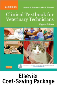 cover image - McCurnin's Clinical Textbook for Veterinary Technicians - Text and Elsevier Adaptive Learning Package,8th Edition