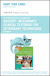 cover image - Elsevier Adaptive Learning for McCurrin's Clinical Textbook for Veterinary Technicians (Access Card),8th Edition