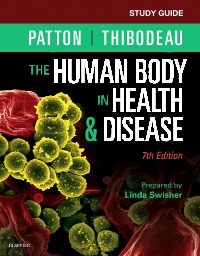 cover image - Study Guide for The Human Body in Health & Disease - Elsevier eBook on VitalSource,7th Edition