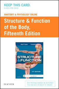 cover image - Anatomy & Physiology Online for Structure & Function of the Body (Access Card),15th Edition