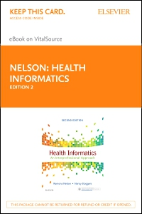 cover image - Health Informatics - Elsevier eBook on VitalSource (Retail Access Card),2nd Edition