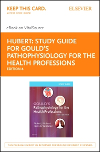 cover image - Study Guide for Gould's Pathophysiology for the Health Professions - Elsevier eBook on VitalSource (Retail Access Card),6th Edition